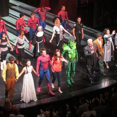 Curtain Call for @SpideyOnBway by Henry Sene Yee  Spider-Man: Turn Off the Dark on Broadway