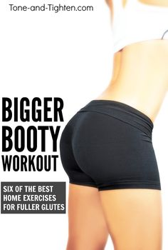 At home butt workout to tone and tighten your glutes! 6 of the best exercises for a round backside!