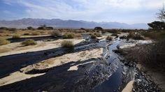 Israele, milioni di litri di petrolio nel deserto