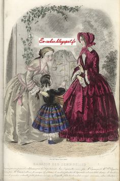 En-robée: Magasin des Demoiselles 1851/1852