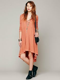 Free People Comfy Hooded Dress, £78.00