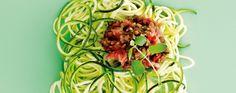 "Squash ""Spaghetti"" med tomatsovs | I FORM"