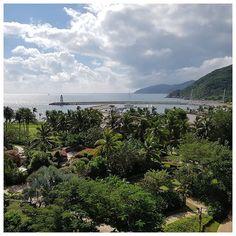 Vue de ma chambre d'hôtel - Sanya Bay, Chine  #Hainan #ThisIsHainanGov #Chine