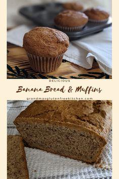 A moist Gluten Free Banana Bread that is quick and easy to make. #glutenfreebread #glutenfreebananabread #easyglutenfreebananabread #easybanana bread.