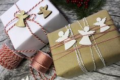 Marshmallow, Advent, Christmas Diy, Origami, Presents, Gift Wrapping, 3d, Gifts, Ideas