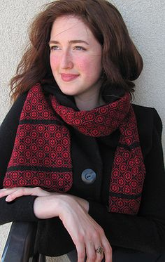 Circles Scarf - another future project from the Yarn Barn of Kansas.