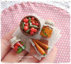 Набор миниатюрных овощей от Pavlysha на Etsy