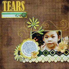 Tears **Nook Feb Kit** - Scrapbook.com Basic Grey Origins