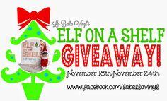 Elf on the Shelf giveaway!!! Here  https://www.facebook.com/LaBellaVinyl?sk=app_228910107186452