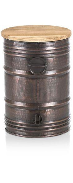 bijzettafel Barrel large-1