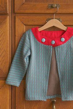 round collar cardigan, Compagnie M.