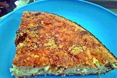 Είναι πανεύκολη κι ετοιμάζεται στο τσακ - μπαμ. Επίσης είναι πεντανόστιμη και μπορεί να φαγωθεί σε θερμοκρασία δωματίου, γεγονός που την κάνει ιδανική τόσο για τσιμπολόγημα στη δουλειά όσο και για σνακ στην παραλία. Cookie Dough Pie, Greek Pita, Cooking Recipes, Healthy Recipes, Savoury Dishes, Greek Recipes, Food Porn, Food And Drink, Snacks