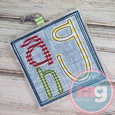 Backpack Tags, Applique Designs, Embroidery Applique, Coin Purse, Monogram, Backpacks, Wallet, Purses, Boutique