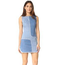 Every Cool Girl Is Wearing This Surprising Denim Trend via @WhoWhatWear