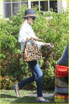 Rosie Huntington-Whiteley leaving a friend's house in West Hollywood