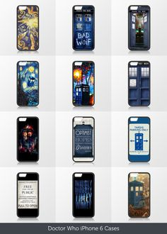 CaseCoco.com   Best Doctor Who iPhone 6 Cases with doctor who. tardis ,Matt smith , david tennant,quotes, bad wolf.Hope you like them.