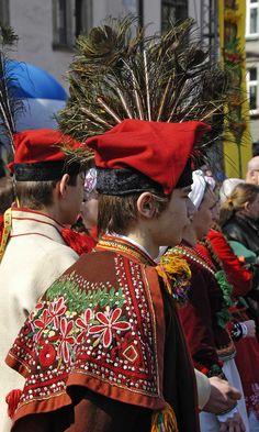 At Plac Wolnica during a traditional market (Wielkanocny Festiwal Tradycji i Obrzędu) on Palm Sunday 2007, Krakow, Poland