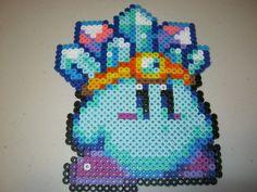 Perler Ice Power Kirby by Ritalabella on deviantART