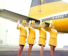 Retro air hostess - classic style & love the colour