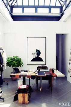 Phillip Lim's Manhattan studio and atelier.