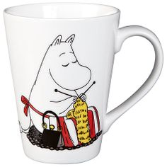 Finland Arabia Moomin Companionship Mug Online at johnlewis.com. She's even knitting!!