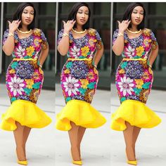 cc6e428a7b 12 Best African Dresses Authentic Ankara images | African dress ...