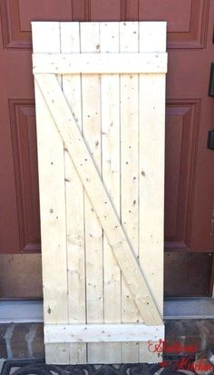 Barn doors today are becoming part of interior decoration in many houses because they are stylish. When building a barn door on your own, barn door hardware kit Cheap Barn Doors, Wooden Barn Doors, Metal Barn, Exterior Barn Doors, Barn Door Closet, Shed Doors, Entry Doors, Front Doors, Front Entry