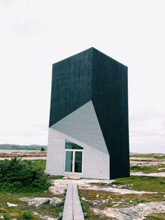 Artist Residency: Fogo Island - The Tall studio