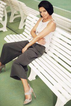 Top Una, Trousers Vendela | Andrea Sauter Swiss Fashiondesign | Spring/Summer 2017 | Photo by Ellin Anderegg