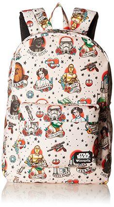 Star Wars Tattoo Flash Print Backpack