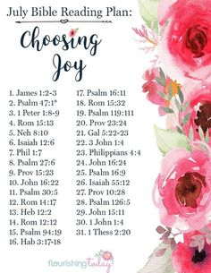 Are you looking for an intentional Bible reading plan to achieve your goals this year? Join us this month as we learn about choosing joy through a printable bible reading plan for women. Bible Study Plans, Bible Plan, Bible Study Journal, Bible Reading Plans, Scripture Reading, Scripture Study, Scripture Quotes, Bible Prayers, Bible Scriptures