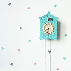 Wallstickers stars mini by dekornik. Baby Room, Clock, Stars, Mini, Wall, Instagram, Home Decor, Watch, Decoration Home
