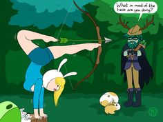 Fionna, niiiiice..... Cartoon Tv, Cartoon Shows, Finn The Human, Jake The Dogs, Adventure Time Finn, Bubbline, Disney Cartoons, Jojo's Bizarre Adventure, Anime Comics