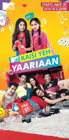"the cover for ""kaisi yeh yaariyan"""