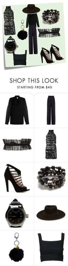 """""""first look at the moment"""" by denisee-denisee ❤ liked on Polyvore featuring Post-It, Diane Von Furstenberg, Sonia Rykiel, BreeLayne, Michael Kors, Chloe Gosselin, Hipchik, John Isaac, Maison Michel and Rebecca Minkoff"""