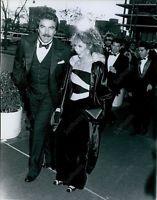 CA207 1986 Annual Academy Awards Actor Tom Selleck & Jilly Mack Press Photo