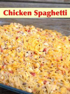 Chicken Spaghetti | Hope and Wyatt