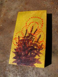 hand painted tulsi icon