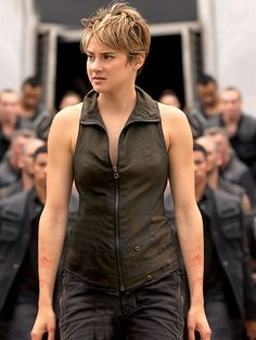 Insurgent Movie Shailene Woodley Leather Vest - $149.99 - Fast Delivery