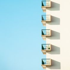 Minimalist photography of urban architecture and shapes by Matthieu Venot. Matthieu Venot is a self taught photographer from Brest in Brittany, France. Minimal Photography, Urban Photography, Abstract Photography, Landscape Photography, Photography Tricks, Blue Sky Photography, Photography Series, House Photography, Architectural Photography