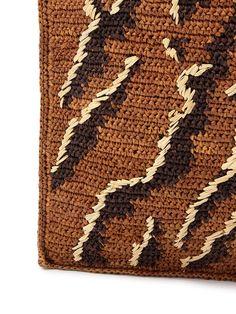 JAMIN PUECH crochet bag detail