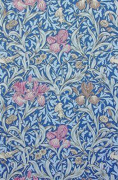 John Henry Dearle 'iris' 1887 by Design Decoration Craft, via Flickr