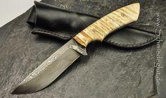100% handmade (Germany) Outdoor Knife by Schmiedeglut