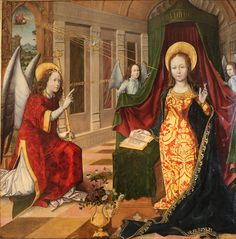Attributed to Jacquelin de Montluçon: Annunciation