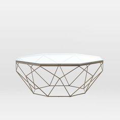 Paris - Geometric Coffee Table