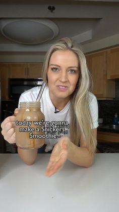 Smoothies, Fruit Smoothie Recipes, Drink Recipes, Fun Baking Recipes, Cooking Recipes, Yummy Drinks, Yummy Food, Healthy Desserts, Healthy Recipes