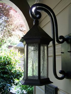 the inspired room.net love this exterior light fixture