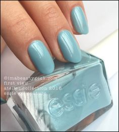 ESSIE GEL COUTURE LAUNCH COLLECTION: ALL 42 SWATCHES & REVIEW   Beautygeeks Spring Nail Colors, Spring Nails, Fall Nails, Essie Nail Polish, Nail Polish Colors, Gel Polish, Nail Polishes, Essie Gel Couture Swatches, Black And White Nail Art