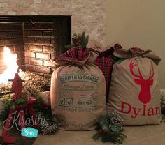 Personalized Santa Sack by KirosityGifts on Etsy