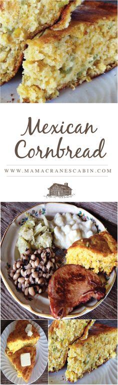 Mexican Cornbread » Mama Crane's Cabin